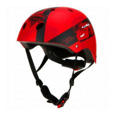 Casca de bicicleta Seven 9018 CARS .54-58 см, Красный
