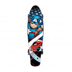 Skateboard Seven 9937 CAPTAIN AMERICA, Разноцветный