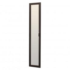 Дверь с зеркалом Олмеко Волжанка 2188 х 395, венге / зеркало венге