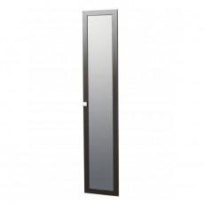 Дверь с зеркалом Олмеко Мона ( 396х2188х16мм), профиль венге