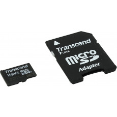 Сard de memorie microSDHC 16 GB Transcend TS16GUSDHC10 (TS16GUSDHC10/16GB)