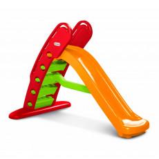 Детские горки Little Tikes 172472E3 Tobogan mare pliabil Curcubeu, Красный/Оранжевый