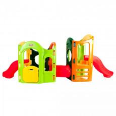 Complex de joc Little Tikes 440W00060 Spatiu de joaca complex 8 in 1 Playground, Разноцветный