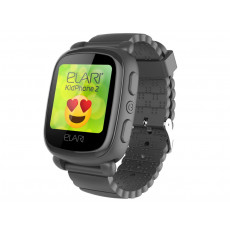 Ceas cu GPS pentru copii Elari KidPhone 2, Black