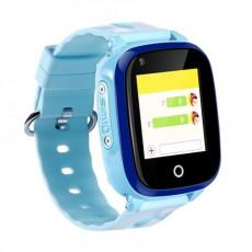 Ceas cu GPS pentru copii Wonlex KT10, Blue