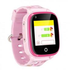 Ceas cu GPS pentru copii Wonlex KT10 4G, Pink