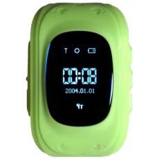 Ceas cu GPS pentru copii Wonlex Q50, Green