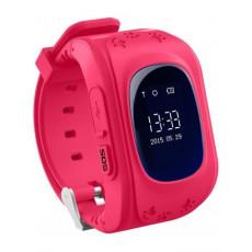 Ceas cu GPS pentru copii Wonlex Q50, Pink