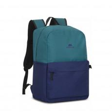 "Rucsac pentru laptop 15.6 "" Rivacase 5560, Aquamarine/Cobalt Blue"