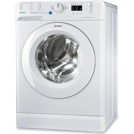Maşină de spalat Indesit BWSA 71052, White, 7 Kg
