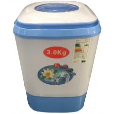 Maşină de spalat Eurolux SWM3, White/Blue, 3 Kg