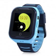 Ceas cu GPS pentru copii Wonlex 4G-T11, Blue