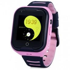 Ceas cu GPS pentru copii Wonlex 4G-T11, Pink