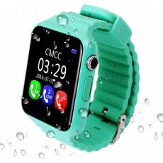 Ceas cu GPS pentru copii Wonlex GW800S, Green