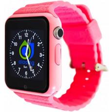 Ceas cu GPS pentru copii Wonlex GW800S, Pink