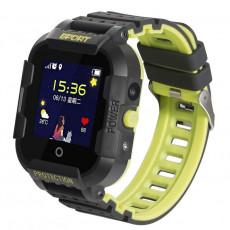 Ceas cu GPS pentru copii Wonlex KT03, Black