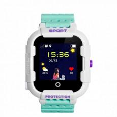 Ceas cu GPS pentru copii Wonlex KT03, Green