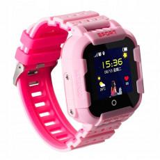 Ceas cu GPS pentru copii Wonlex KT03, Pink