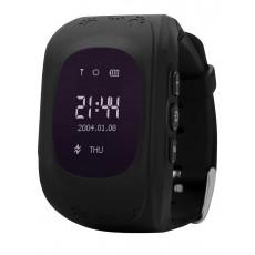 Ceas cu GPS pentru copii Wonlex Q50, Black