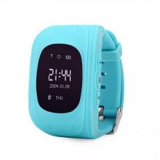 Ceas cu GPS pentru copii Wonlex Q50, Blue