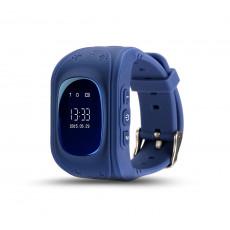 Ceas cu GPS pentru copii Wonlex Q50, Dark blue