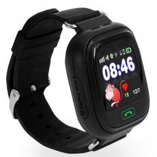 Ceas cu GPS pentru copii Wonlex Q80, Black