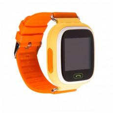 Ceas cu GPS pentru copii Wonlex Q80, Orange