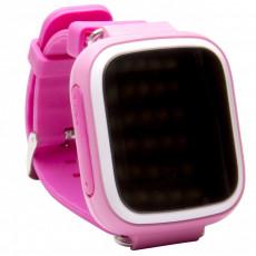 Ceas cu GPS pentru copii Wonlex Q80, Pink