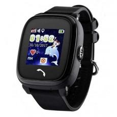 Ceas cu GPS pentru copii Wonlex W9, Black