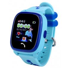 Ceas cu GPS pentru copii Wonlex W9, Blue