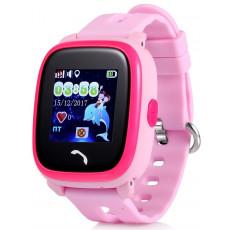 Ceas cu GPS pentru copii Wonlex W9, Pink