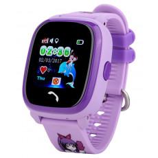 Ceas cu GPS pentru copii Wonlex W9, Purple