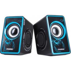 Boxe 2.0 Marvo SG-201, 6 W, Blue/Black