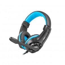 Căști Fury NFU-0862, Black/Blue