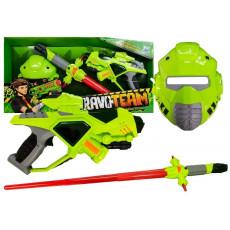 Leantoys 4310 Set de joaca Echipament cu pistol, sabie si masca
