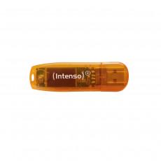64 GB USB 2.0 Stick USB Intenso Rainbow Line, Orange (Rainbow Line/64GB)