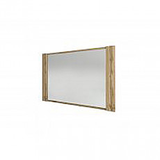 Oglinda de perete Sokme Франческа 880 (88.7 cm) , Дуб вотан /латте