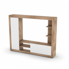 Living SV - Мебель Гостиная №10 (200 cm), Дуб Делано/ Белый глянец