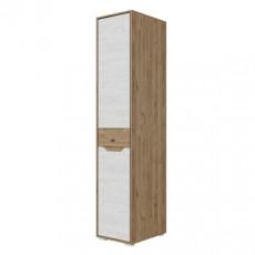 Penal SV - Мебель ВЕРОНА (45 cm) stânga, Гиккори темный / Гиккори светлый