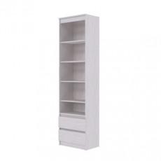 Penal SV - Мебель Бриз 1 (60 cm) ( открытый 2 ящика), Ясень Анкор светлый