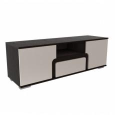 Tumbă SV - Мебель НОТА 25 (140 cm), Дуб венге/ Жемчуг