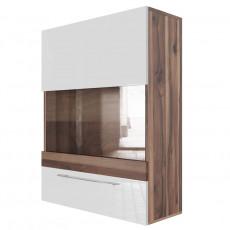 Dulap de perete SV - Мебель Ницца (70 cm) горизонтальный (700), Истанбул/ Белый глянец