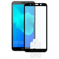 Sticlă protecție Huawei Y5 2018, KSIX Machine 2.5D Glass, Black