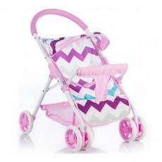 Cărucior pentu plimbare Chipolino Zara KZKZ01701ZZ для куклы, Розовый