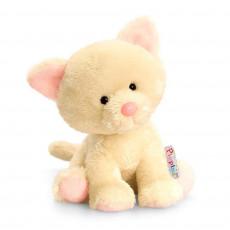 Keel Toys SF4875 Jucarie de plus Pippins Pisica, 14cm