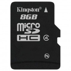 Сard de memorie microSDHC 8 GB Kingston  (SDC4/8GBSP)