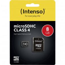 Сard de memorie microSDHC 8 GB Intenso  (4034303010707)