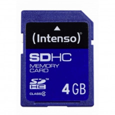 Сard de memorie SDHC 4 GB Intenso  (4034303007561)