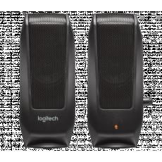 Boxe 2.0 Logitech S120 LO 980-000010, 2.3 W, Black