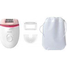 Epilator Philips BRE255/00, White/Pink